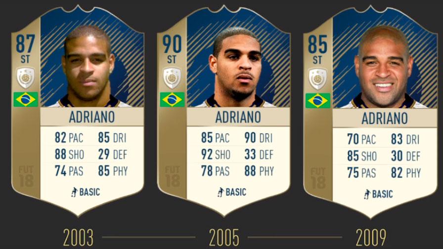 Адриано FIFA 19