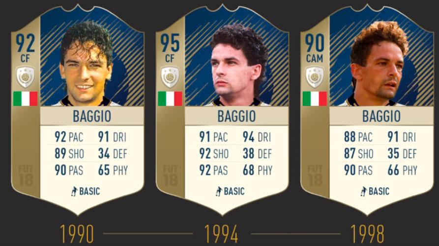 Баджо FIFA 19
