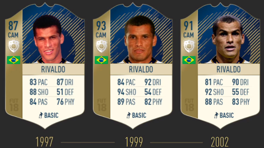 Ривалдо FIFA 19