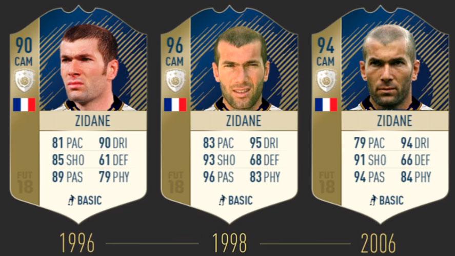 Зидан FIFA 19