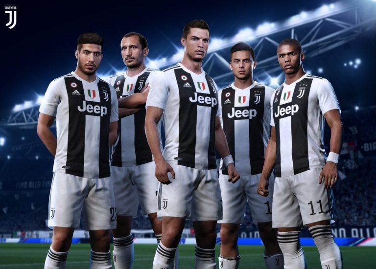 Роналду представлен в форме «Ювентуса» в FIFA 19