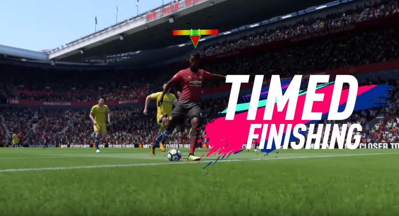 FIFA 19 представила новую систему ударов
