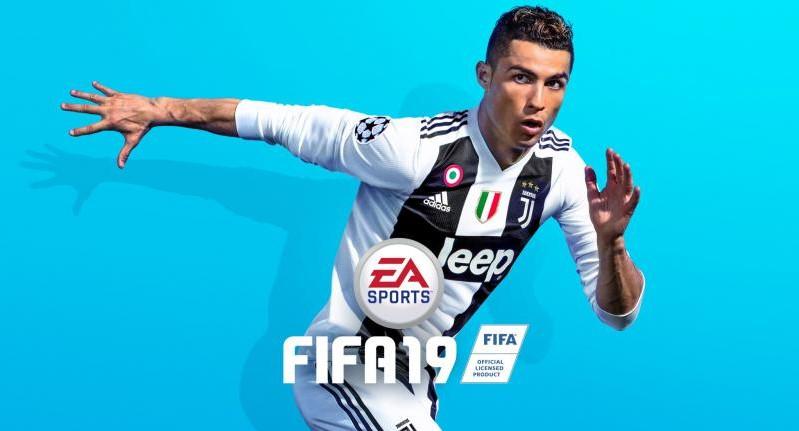 """Роналду в форме """"Ювентуса"""" на новой обложке FIFA 19"""