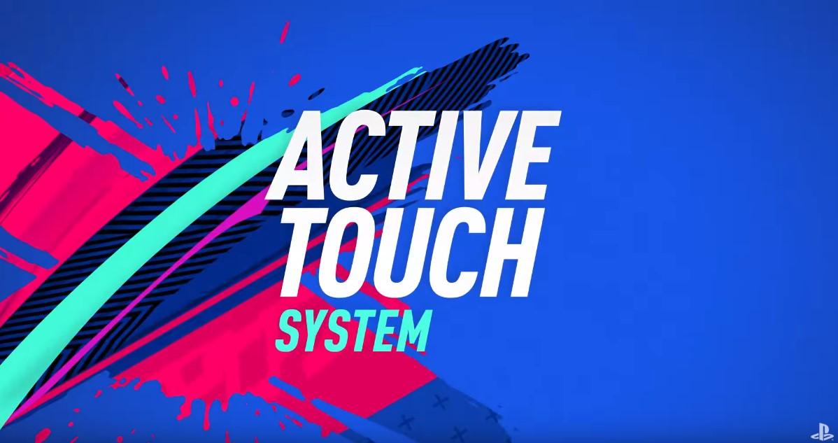 Система активного касания в FIFA 19