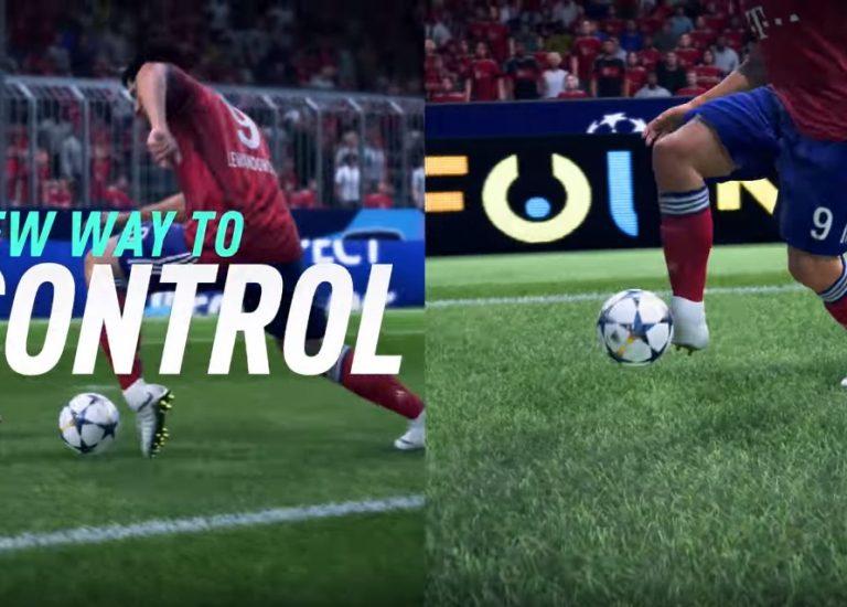 Новым трейлер FIFA 19