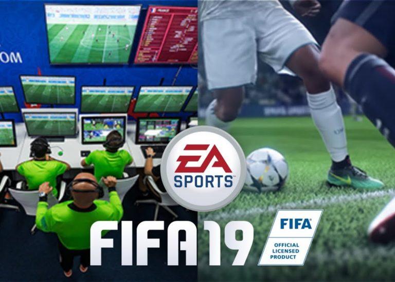 В FIFA 19 не будет системы ВАР
