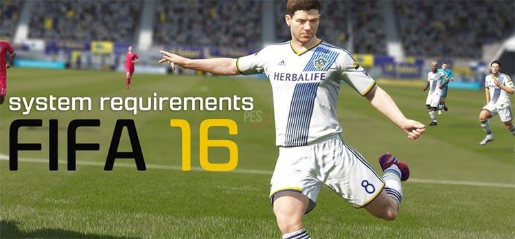 Системные требования FIFA 16