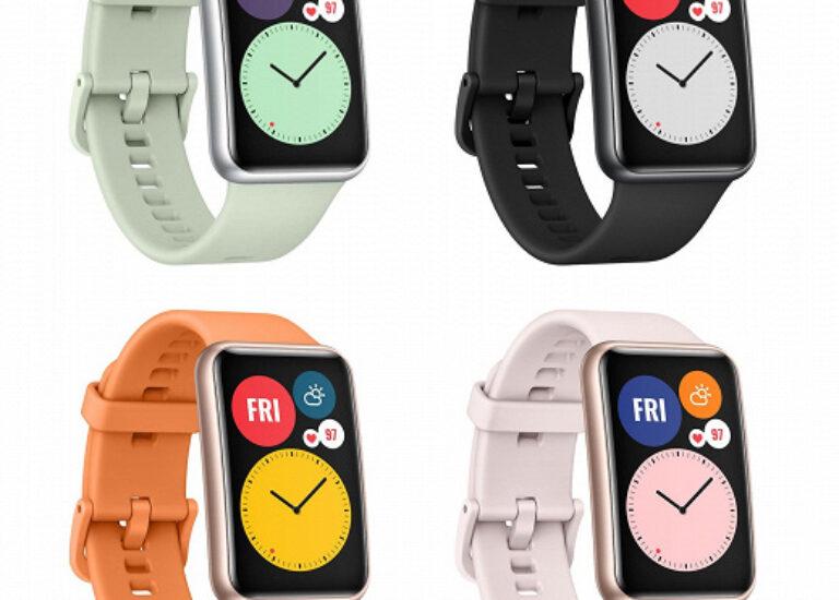 Необычный Huawei фитнес-браслет Watch Fit стал на шаг ближе к выходу