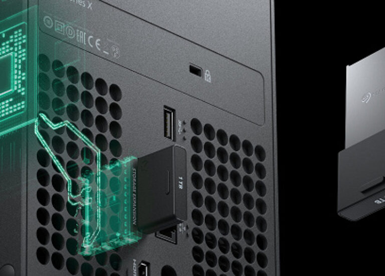 Если захотите полноценно расширить хранилище Xbox Series X, придётся заплатить 220 долларов. Столько стоит специальная карта
