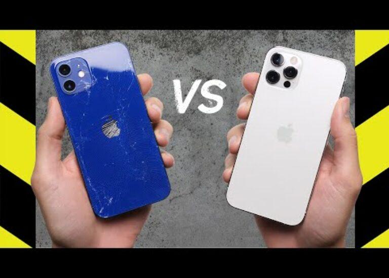 Смотрим на то, как iPhone 12 и 12 Pro много раз падают на пол. Дроп-тест с роботизированным манипулятором впечатляет